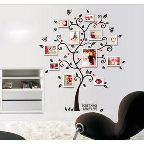 Adesivo Parede - Porta Retrato - Mural - Decorações - Árvore