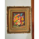 Flores !! Bodegon De Clari Cruz Pintora Venezolana