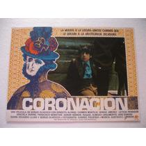 Ernesto Alonso, Coronación , Cartel De Cine