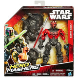 Muñeco Hero Mashers Star Wars Darth Maul Hasbro Original