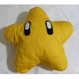 Almofada Bordada Estrela Do Mario (estrela)