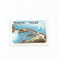 Selo Brasil,selo Usina De Itaipu 1983,rhm 1311,novo.descr.