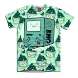 Adventure Time Hora De Aventura Camiseta Personalizada Beemo