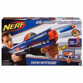 Nerf N-strike Elite Rampage Blaster + Munição Grátis