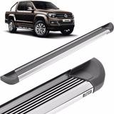 Estribos Aluminio Pesado Pulido Bepo Para Volkswagen Amarok