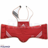 Peto adidas Wtf Taekwondo Dos Vistas (azul Y Rojo)