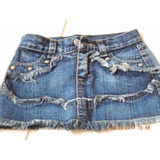 Ropa De Nena De Jeans-canchera Talle 5 A 6 Años