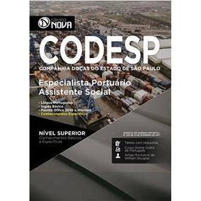 Apostila Codesp 2017 - Especialista - Assistente Social