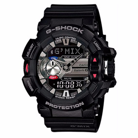 Relogio Casio G-shock Gba-400 1adr Bluetooth G Mix Wr-200m P