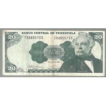 Venezuela 20 Bolivares 1992