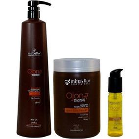 Minas Flor Reconstrução Ojon +7 Masc+ Shampoo +oleo C