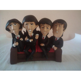 Figura Resina Sillon The Beatles