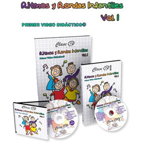 Ritmos Y Rondas Infantiles 1 Vol + 1 Cd + 1 Dvd Ed Clase 10