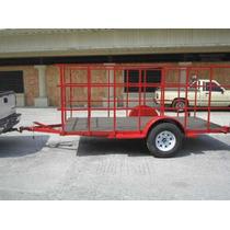 Remolque Multiusos Barandal Redila Camioneta Camiones Mex