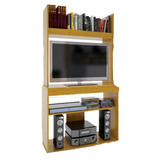 Rack Orlandi - Modular- Biblioteca Wengue Roble Mogno Mamá!