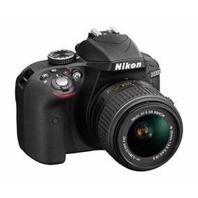 Câmera Nikon D3300 Lente 18-55 +32gb Class10 + Bolsa + Tripé