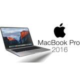 Macbook Pro 13 2016 Procesador I5 2.0 8 Gb 256 Gb Nuevo