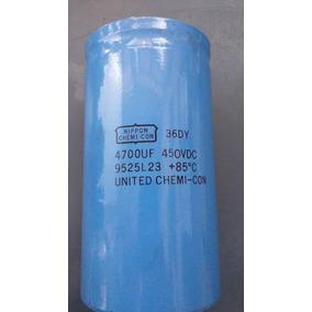 Capacitor Eletrolítico 4.700 Uf 450vdc Promoção