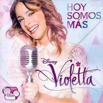 Violetta / Hoy Somos Más / Disco Cd Nuevo Sellado