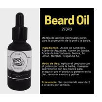 Aceite Para Barba Con Aceites Esenciales Naturales