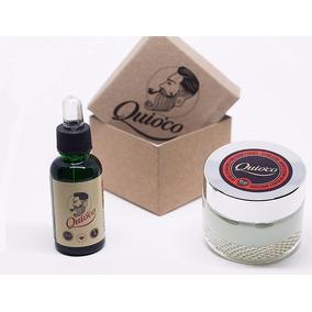 Crema Y Aceite Cuidado Barba Kit Marca Quio´co