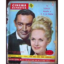 Revista Cinema Reporter,sean Connery,tippi Hedren En Portada