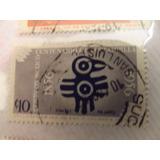 Timbre Postal Centenario De La Estampilla 1856-1956