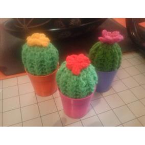Cactus Tejidos A Crochet, Souvenirs, Centros De Mesa, Etc