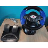 Volante Con Pedal Pc / Play 2/ Play 3 Vendo O Permuto