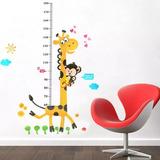 Promoção- Adesivo Parede Fita Métrica Girafa Altura Crianças