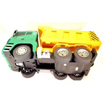 1/18 5ch Remote Control Rc Construction Dump Truck Kids
