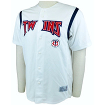 Camiseta Mlb Beisbol Minnesota Twins Original M L Impecable