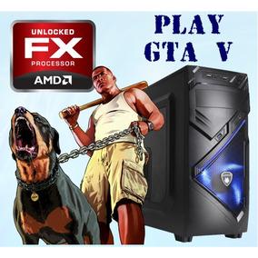 Pc Gamer Fx / Gta V Hd / 8gb / Video 4gb - Envío Gratuito