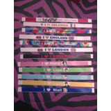 8 Pulseras One Direction, 1d, Harry, Liam, Zayn, Louis,niall
