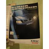 Publicidad Honda Cr-v Año 1998