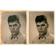 Restauración De Fotos, Retoque De Fotos, Retoque De Imagen