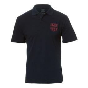 Camisa Polo Barcelona Licenciada Meltex 1406 Marinho