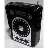 Caixa Som Portátil Speaker Dls-525 Fm Usb Cartão Sd Mmc