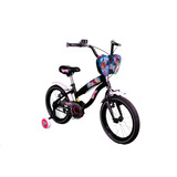 Bicicleta Bianchi Monster High Aro16 Color Negra