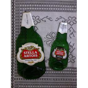 Botellas Aplastadas De Vitrofusion Grande