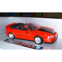 1:43 Ford Mustang Gt Convertible 1994 Rojo New Ray