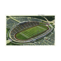 San Antonio, Texas, Aerial View Of Alamo Stadium Print, 24