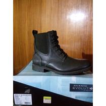 Zapato Marca Guante 100% Cuero Color Gris N° 41 Y 42