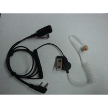 Microfono Audifono Tactico Para Equipos Motorola