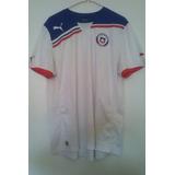 Camiseta Selección Chilena, Año 2012, Marca Puma, Talla Xl.
