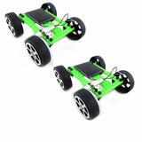 Lote Com 2 Carros Energia Solar Brinquedo Educativo Robótica
