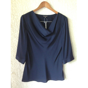 Bella Blusa Azul Formal Brooks Brothers Talla 40