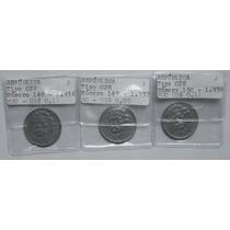 Série Completa 300 Réis República - 3 Moedas - 1936 A 1938
