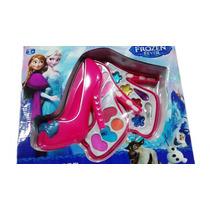 Maquiagem Infantil Da Frozen Em Formato De Sapato