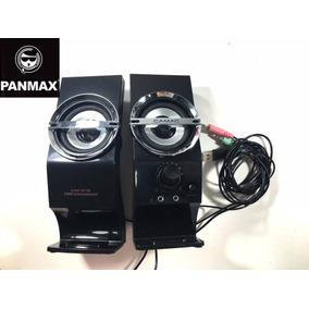 Caixa De Som Para Pc Potente M878 Portatil Pc Celular Mp4